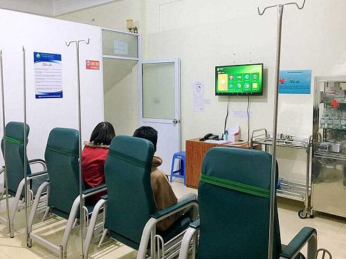 phòng chờ phòng khám đa khoa thành đô