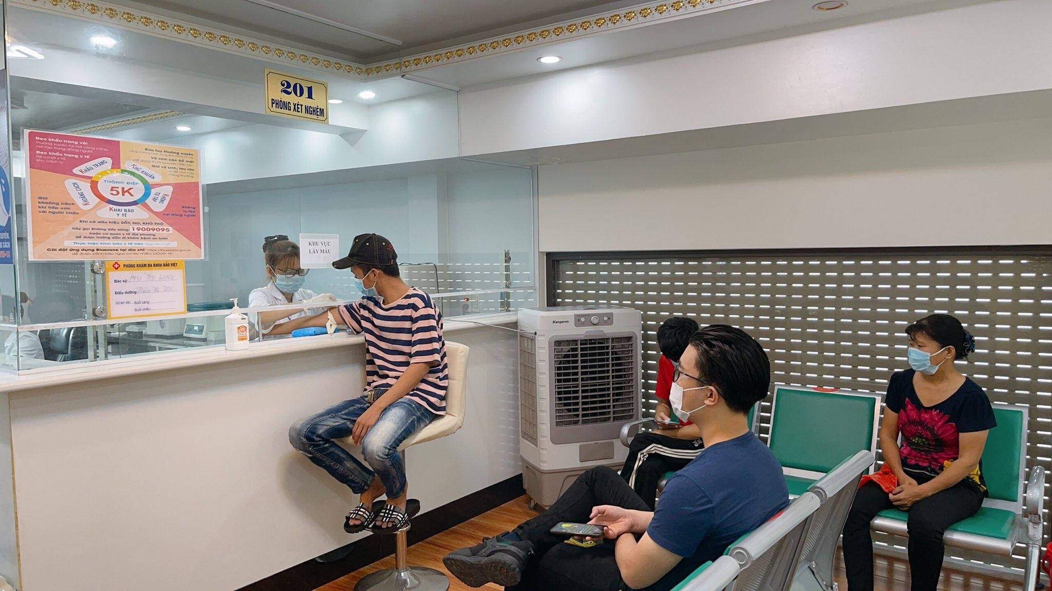khu lễ tân Phòng khám nam khoa uy tín ở Nam Định